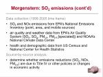 morgenstern so 2 emissions cont d