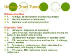 urinary tract tumor33