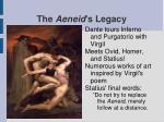 the aeneid s legacy