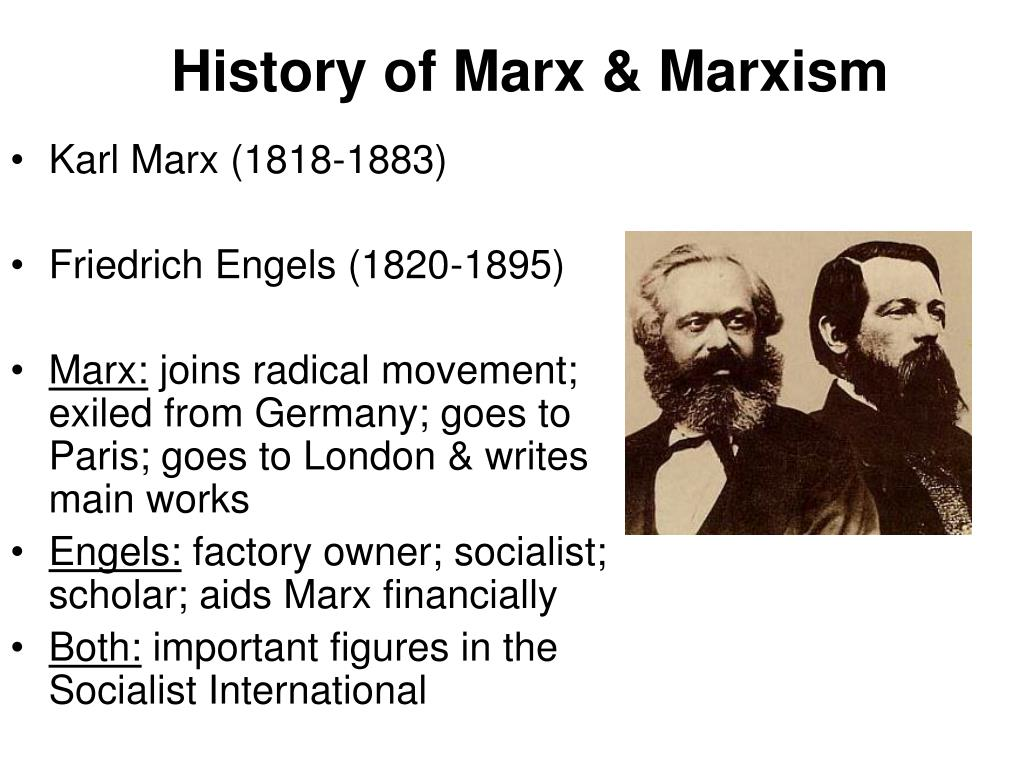 a review of true marxism perpetuated by karl marx