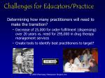 challenges for educators practice