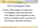 the framingham study