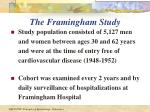 the framingham study9