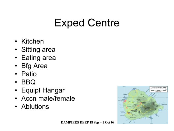 Exped Centre