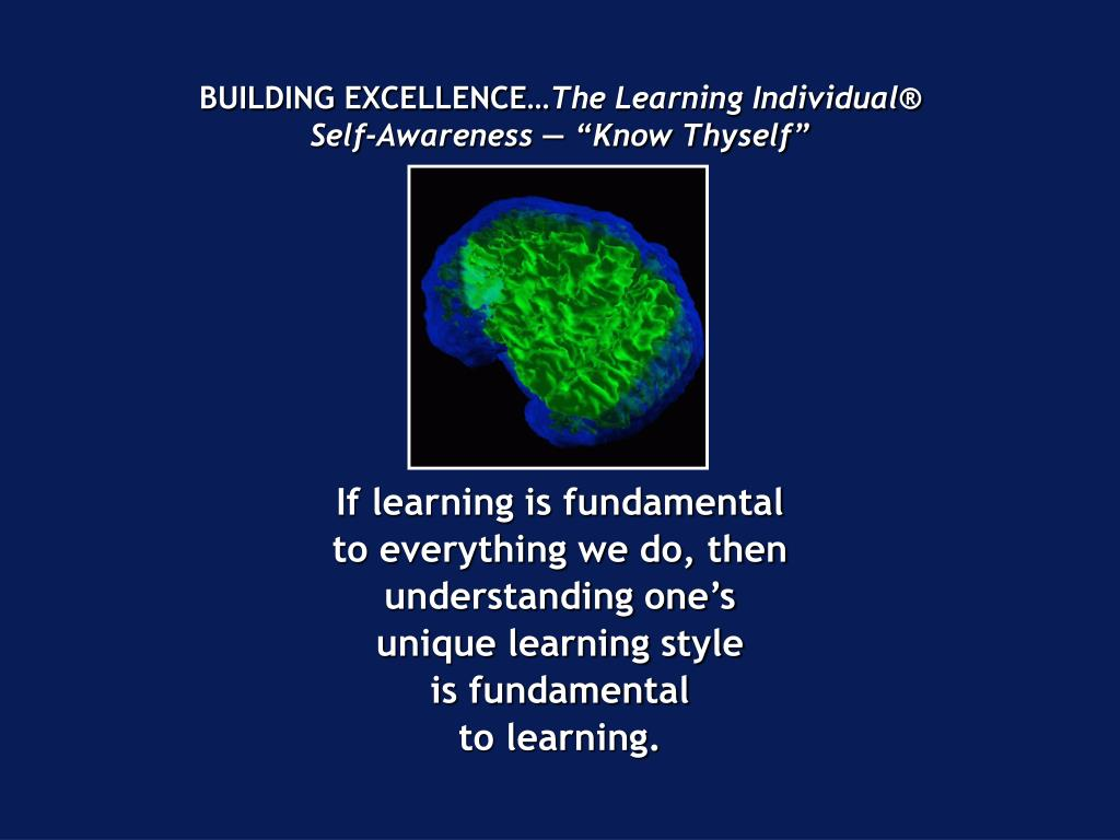 BUILDING EXCELLENCE…