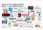 some of our leading clients