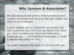 why janssen associates
