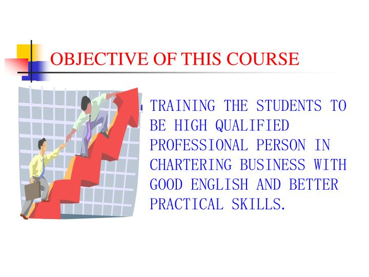 objective of this course n.