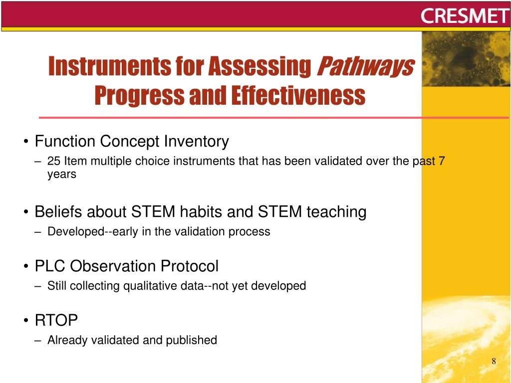 Instruments for Assessing