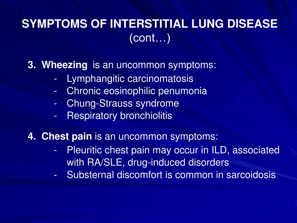 Ppt Interstitial Lung Diseases Ild Powerpoint