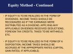 equity method continued1