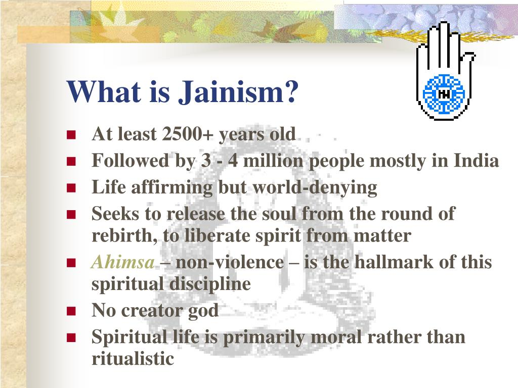 what is jainism l.