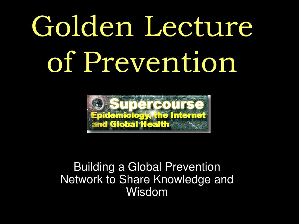 Golden Lecture