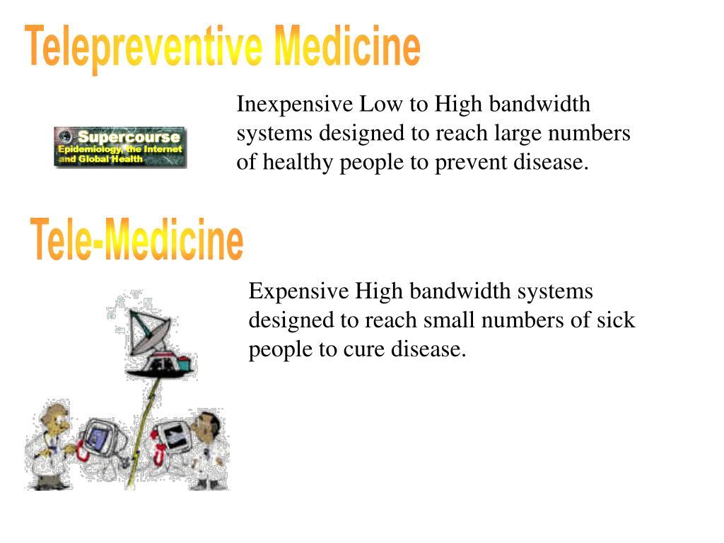 Telepreventive Medicine