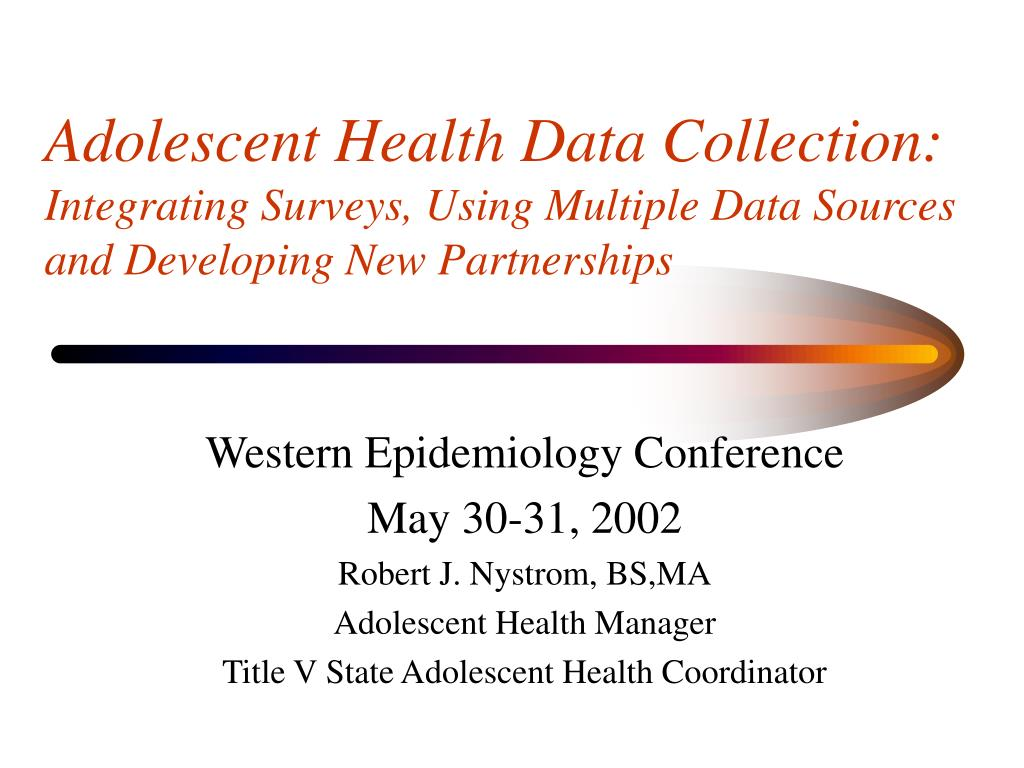 Adolescent Health Data Collection: