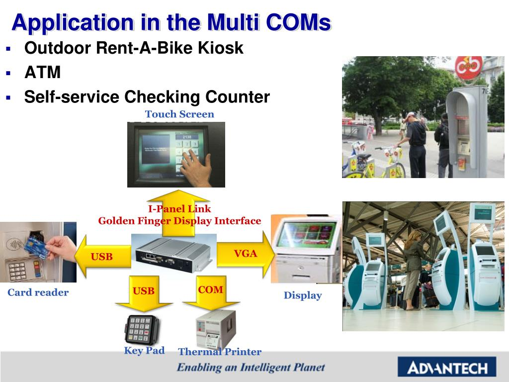 Application in the Multi COMs