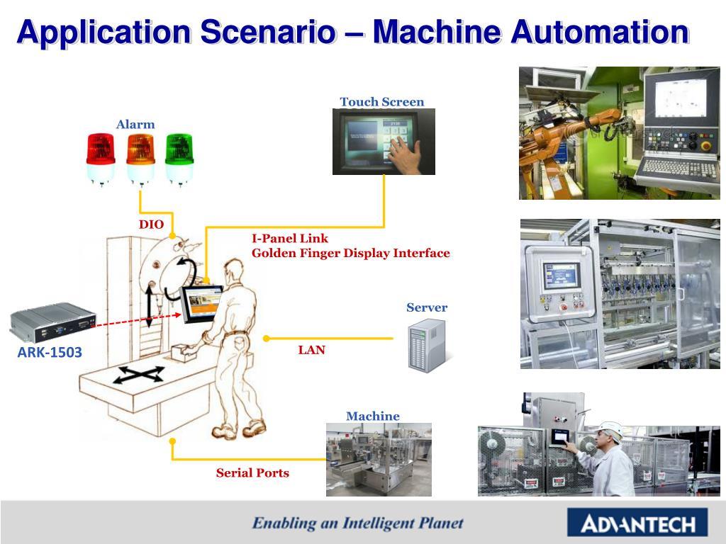 Application Scenario – Machine Automation