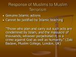 response of muslims to muslim terrorism24