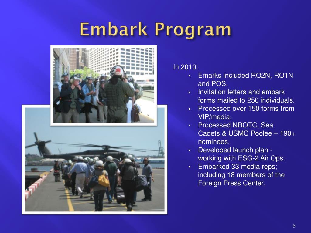 Embark Program