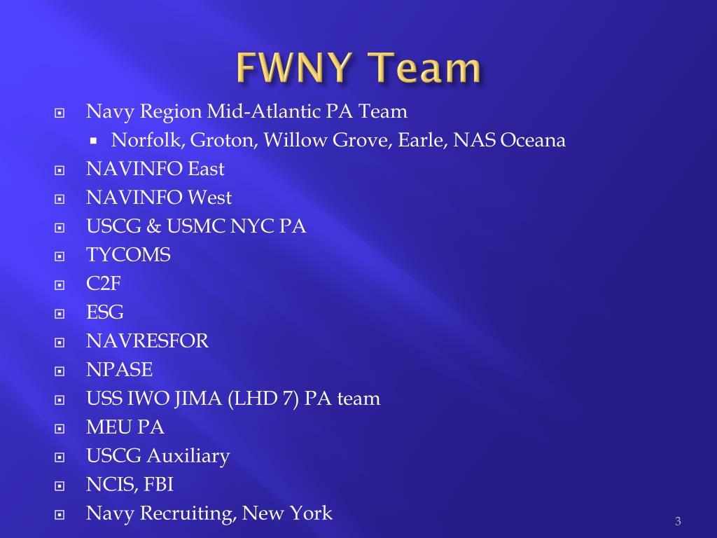 FWNY Team