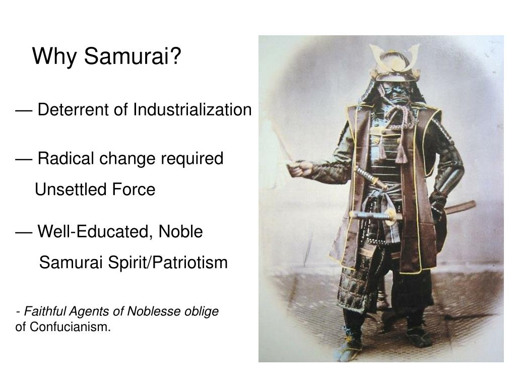 Why Samurai?