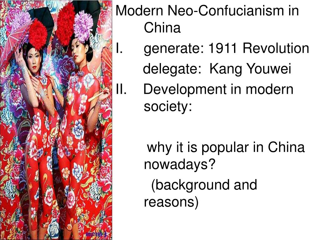 Modern Neo-Confucianism in China
