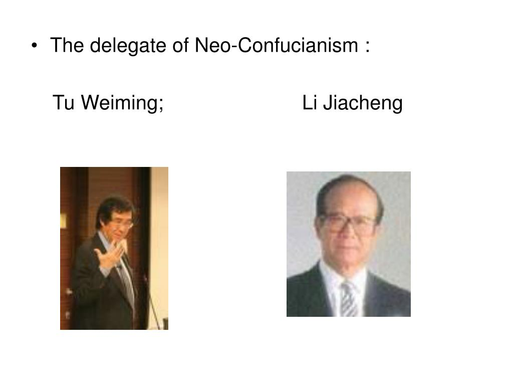 The delegate of Neo-Confucianism :