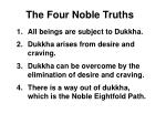 the four noble truths29