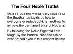 the four noble truths43