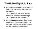 the noble eightfold path76