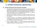 v other potential incentives65