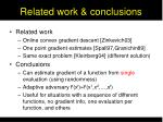 related work conclusions