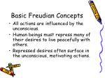 basic freudian concepts