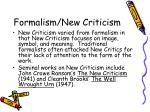 formalism new criticism8
