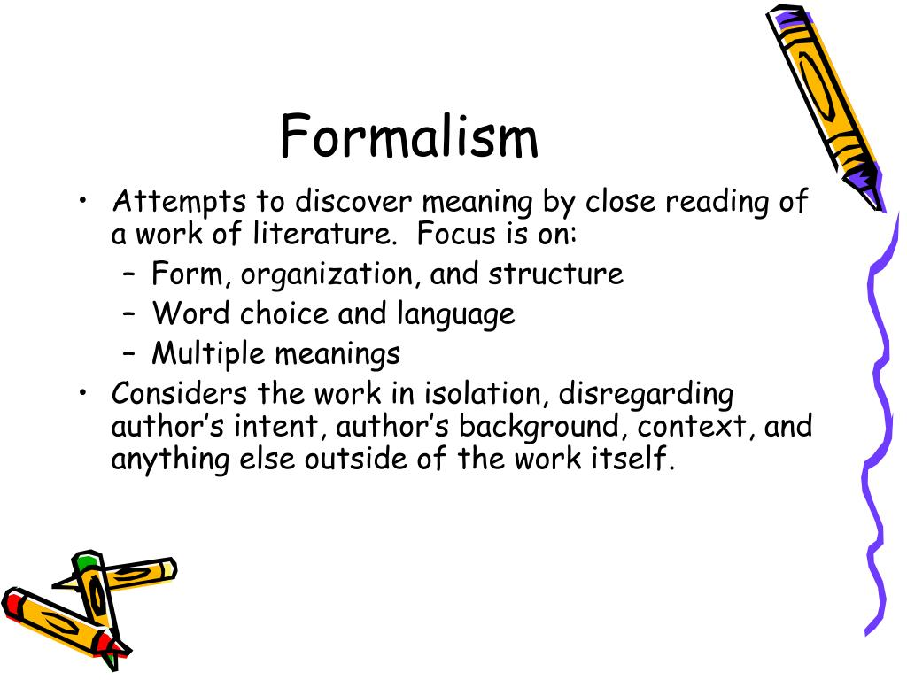 Theories of Literary Criticism - PowerPoint PPT Presentation