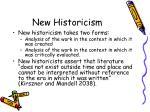 new historicism21