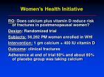 women s health initiative