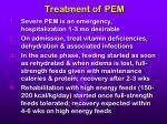treatment of pem