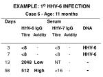 example 1 o hhv 6 infection case 6 age 11 months