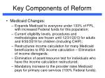 key components of reform