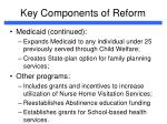 key components of reform4