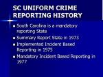 sc uniform crime reporting history