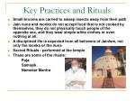 key practices and rituals10