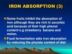 iron absorption 3