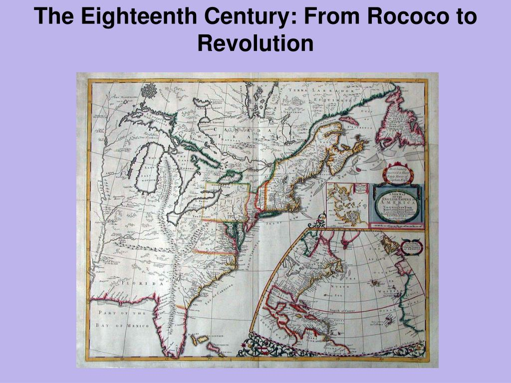 the eighteenth century from rococo to revolution l.