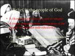 belief in the people of god