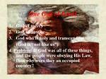 one god of israel