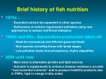 brief history of fish nutrition16