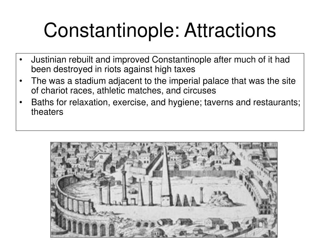 Constantinople: Attractions