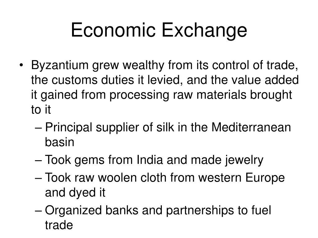 Economic Exchange
